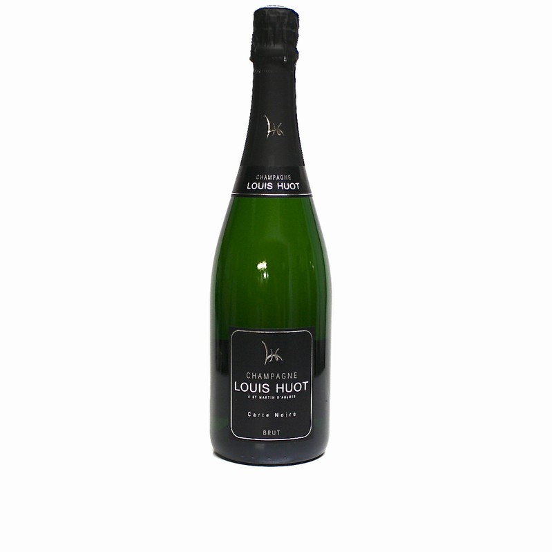 CHAMPAGNE HUOT CUVEE BLACK CARD 75 CL